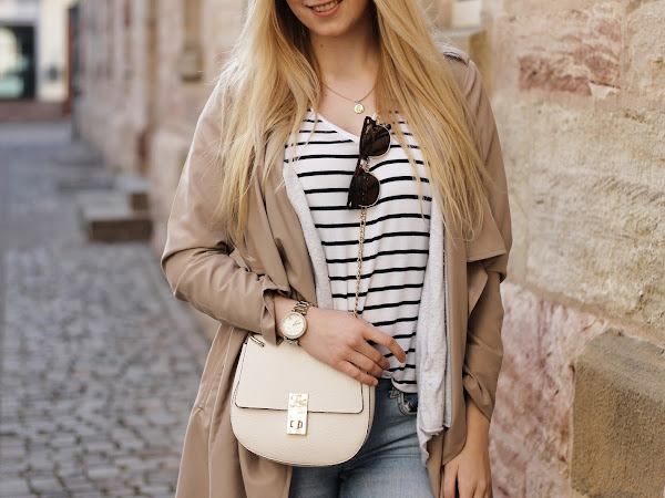 Outfit: light & neutral colours // + my new hairstyle