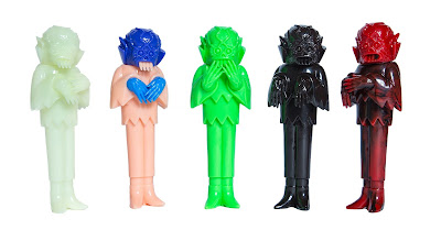 Craig Gleason's The Ghoul Unpainted Vinyl Figures by Justin Ishmael 1st Online Release