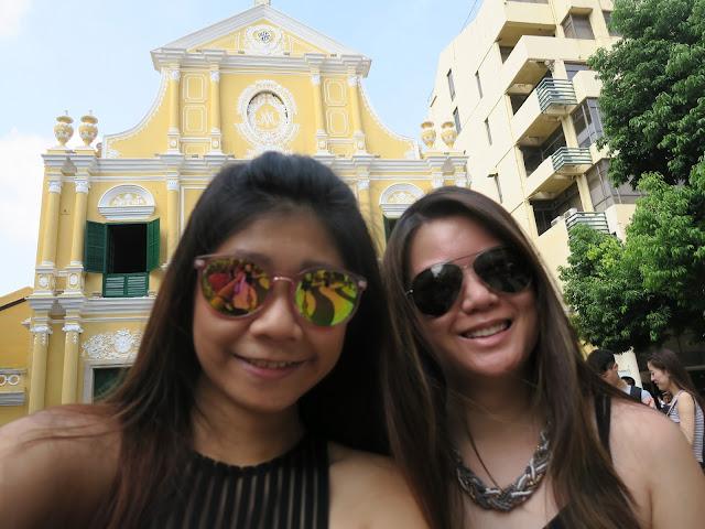 Macau Main street ; Welfie