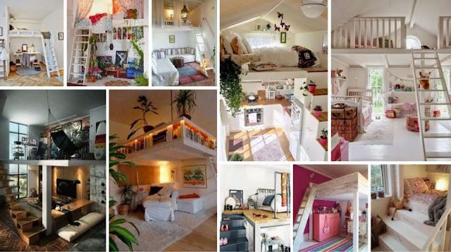 Διαμόρφωση χώρων-δωματίων με Πατάρι