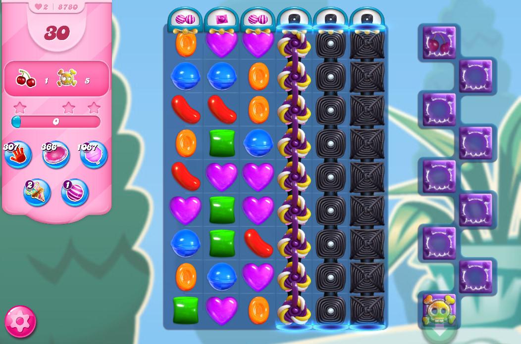 Candy Crush Saga level 8780