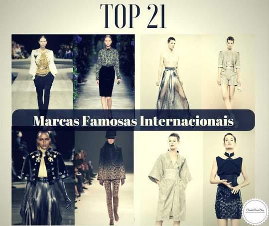 Top 21 Marcas de Roupas Femininas Famosas Internacionais