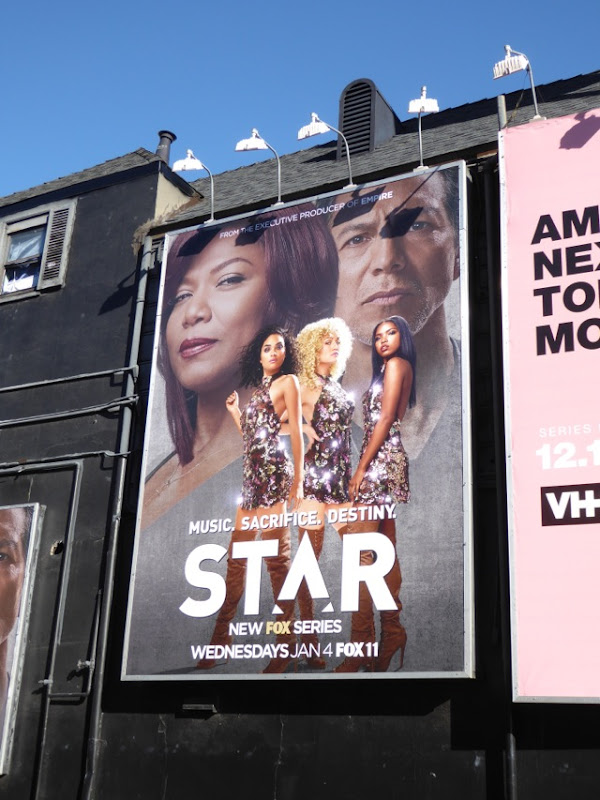 Star series premiere billboard