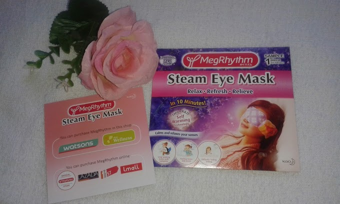 MegRhythm Steam Eye Mask Bagi yang Sukar Untuk Tidur