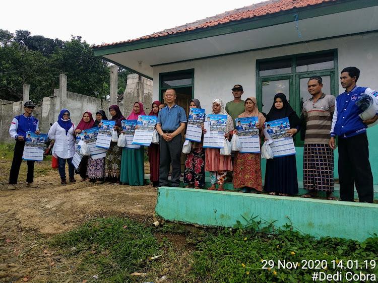Fraksi Demokrat DPR RI Sapa Korban Puting Beliung Tugubandung Kab. Sukabumi