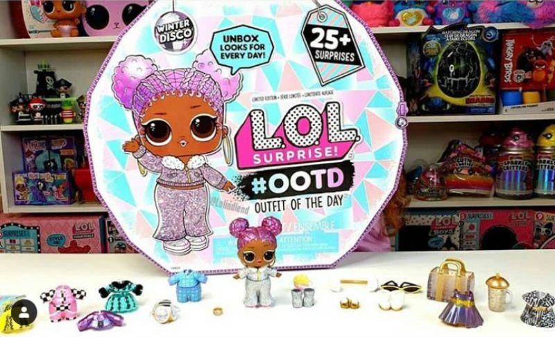 #OOTF Winter Disco 25 сюрпризов и кукла Snow Jamz