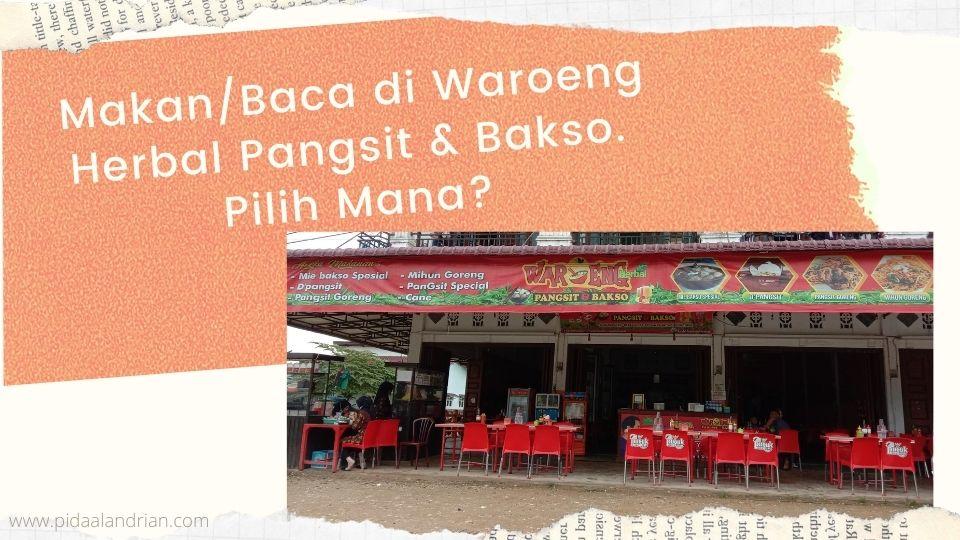 Waroeng herbal pangsit & bakso