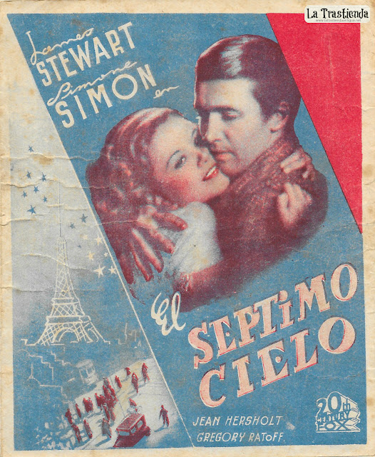 El Séptimo Cielo - Programa de Cine - James Stewart - Simone Simon