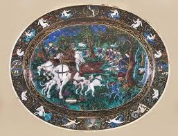 Art enamel. 16th century. France.