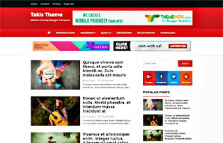 Takis Blogger Template Download |