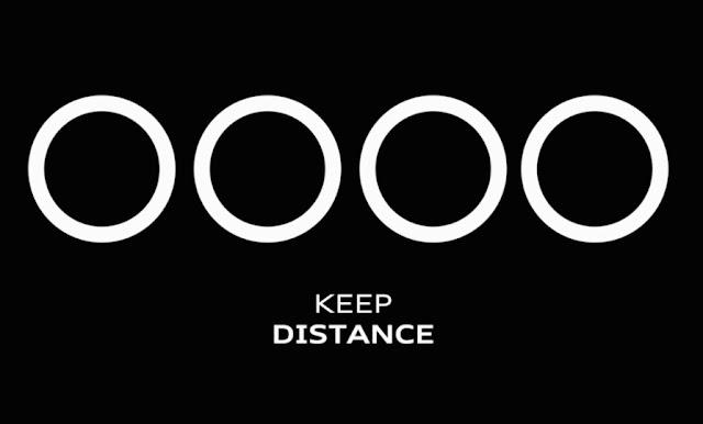 Audi Promoting Social Distancing for Corona