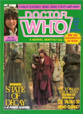 Doctor Who Magazine #48, State of Decay