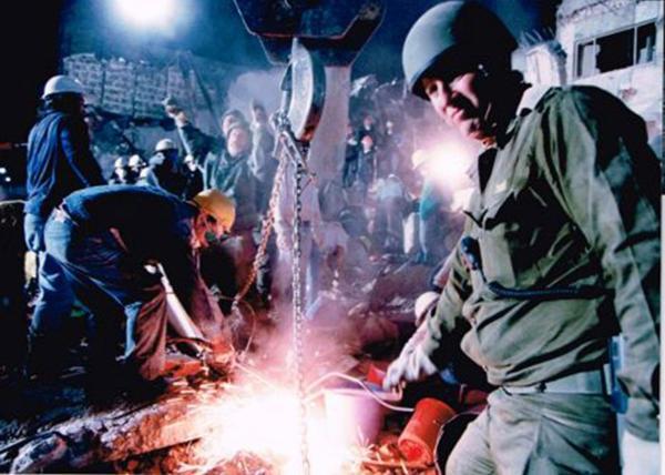 Golan, en medio de los trabajos