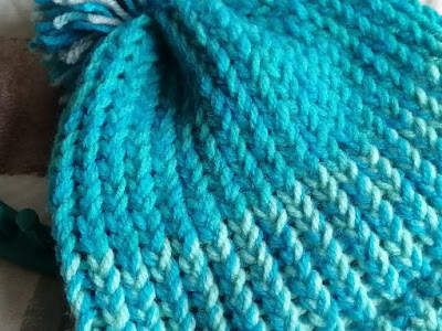 Close up of knits