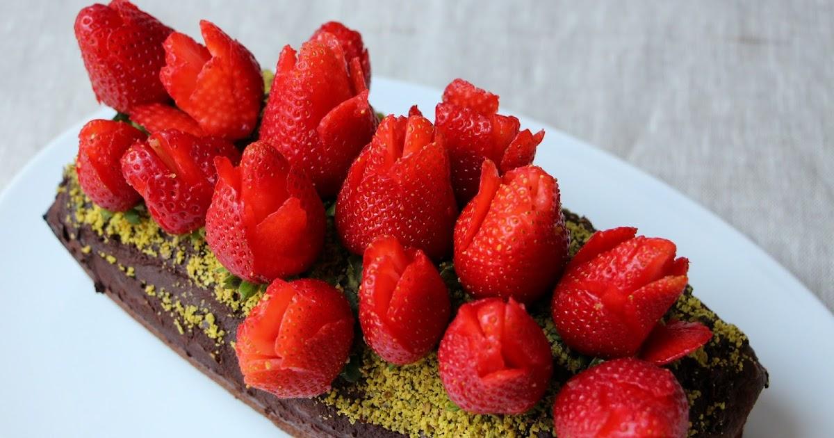 Bouquet de fraises pour la f te des m res sur un d licieux for Mamadou au tableau j y suis deja