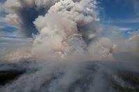 Marie Creek Fire in Alaska on June 24, 2012. (Credit: Yasunori Matsui/National Park Service/flickr) Click to Enlarge