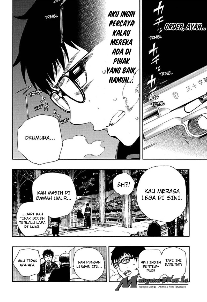 Ao no Exorcist Chapter 93-6