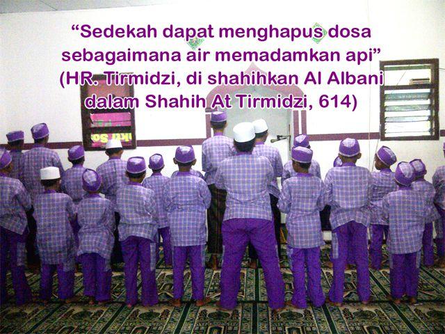 Sesuai Hadist Nabi Muhammad