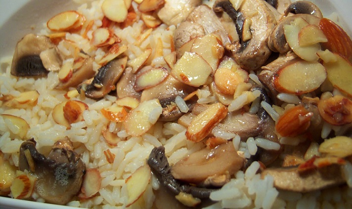 Rice Almondine Marsala