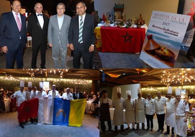 La localité de Maspalomas accueille le Premier Festival Culinaire en honneur à la cuisine Marocaine