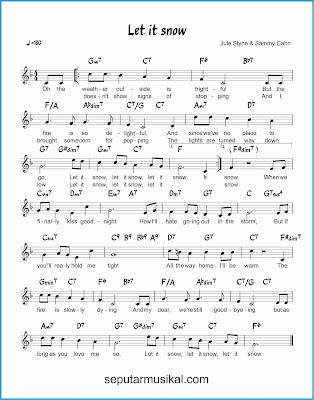 let it snow lagu jazz standar