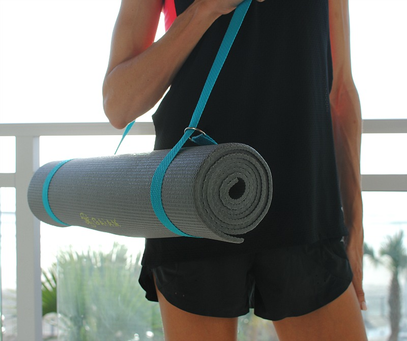 Trash To Couture Diy Yoga Mat Carrier