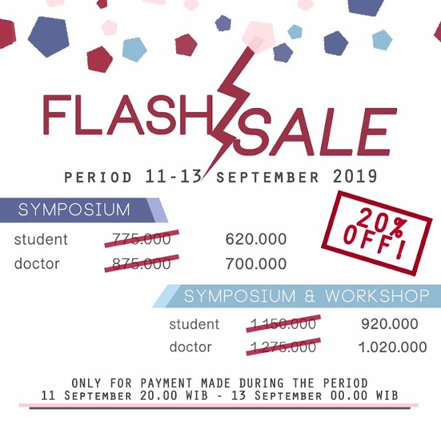 |CUNEUS 2019 FLASH SALE!    Get 20% off for all registration type!  Only for payment made during the period:  11th September (20.00 WIB) - 13th September 2019 (00.00 WIB)