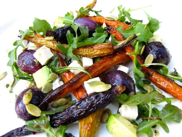 Diane Carnevale Moroccan Roasted Carrot Salad