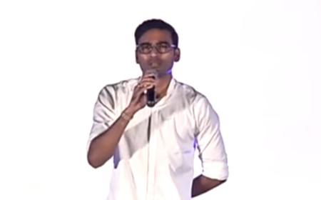 Dhanush speech at Sakka Podu Podu Raja Audio Launch | Simbu | Dhanush