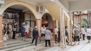 Antusias Warga Ikuti Kerja Bakti di Masjid Al-Muhajirin Kavling Pemda - Kaum Rebahan ID