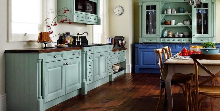 Cozinhas decoradas estilo vintage decora o e ideias for Muebles practicos para casas pequenas