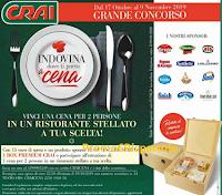 Logo CRAI ''Indovina dove ti porto a cena'': vinci Box di prodotti e cene stellate