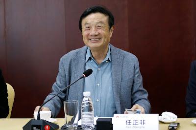 Ren Zhengfe ซีอีโอของ Huawei เตรียมผลักดันพร้อมขยายศักยภาพนวัตกรรม 5G สู่ทุกภาคอุตสาหกรรม