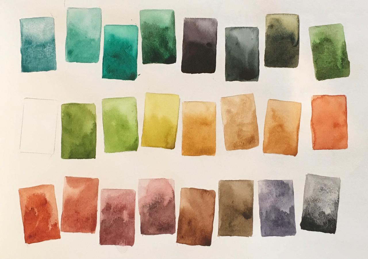 Jane Blundell Artist Mac Palette As Watercolour Palette