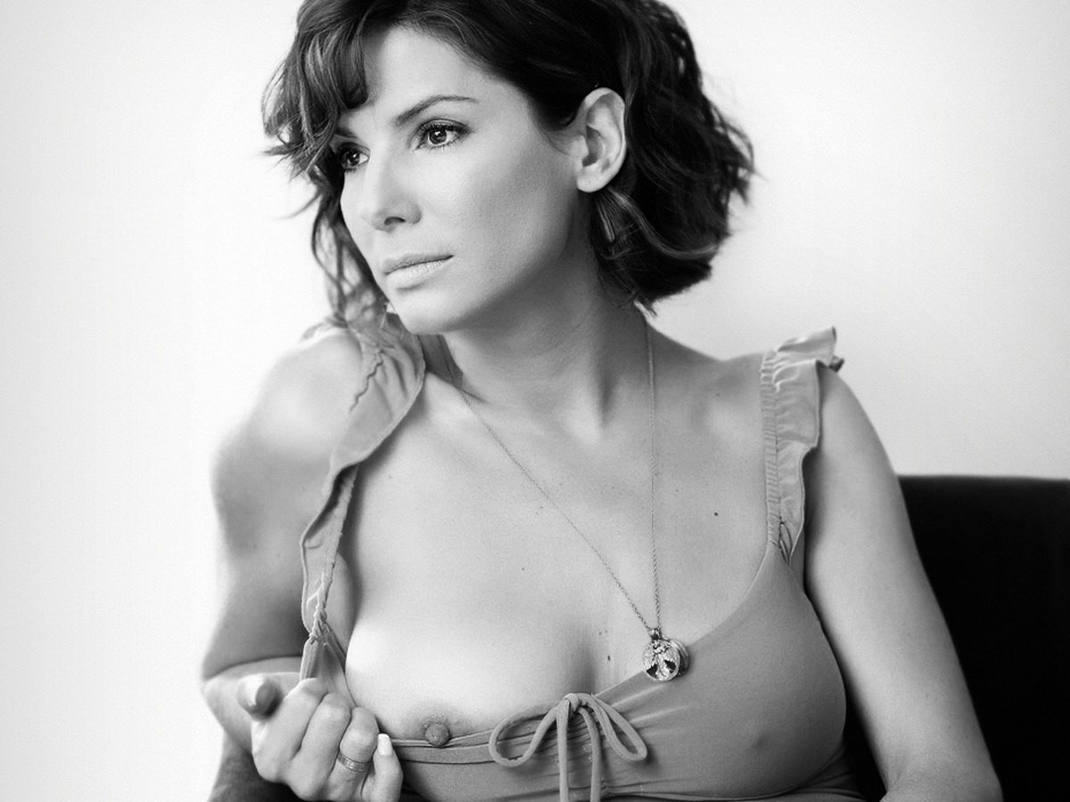 Sandra bullock nipple shots final, sorry