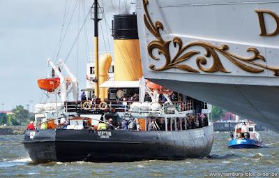 Dampf Eisbrecher Stettin Hamburg Hafengeburtstag