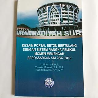 Buku sipil DESAIN PORTAL BETON BERTULANG dg SRMM sesuai SNI beton 2013