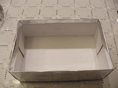 Φτιάχνουμε κορνίζα από κουτί παπουτσιών