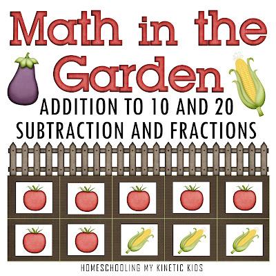 Math In The Garden Printable Activities
