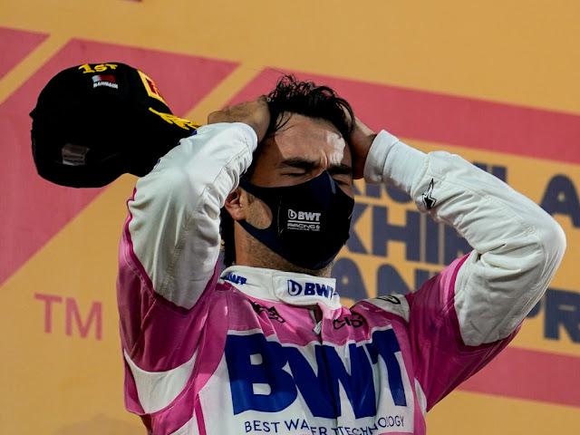 Sergio Perez Sakhir Grand Prix