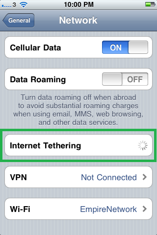 Prakticality: How to Internet Tether on iPhone