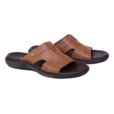 Sandal Kulit Pria Catenzo TU 046