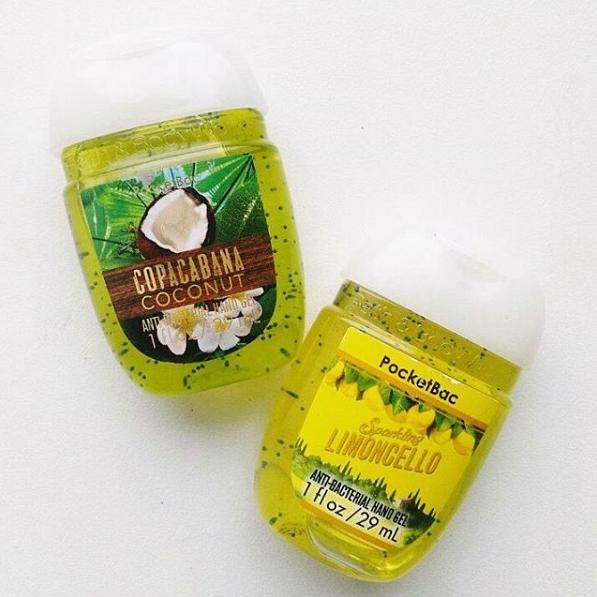 bath & bodyworks antibakteriální gel copacabana coconut limoncello