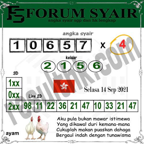 Forum syair hk Selasa 14 September 2021