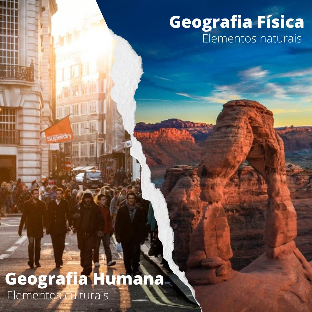 Geografia Física x Humana