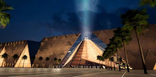 Artist's concept of Grand Egyptian Museum