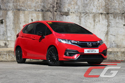 Honda Jazz Gets A 2018 Update Too Prices Equipment Up Philippine