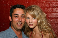 Rick Barker and Taylor Swift