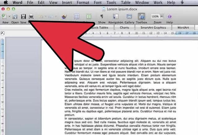 كيفية تحويل مستند Microsoft Word إلى تنسيق PDF فى نظام الوندوز والماك بعدة طرق