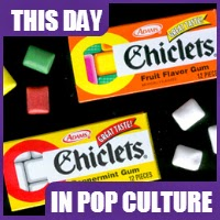 Chiclets were trademarked registered on December 5. 1905